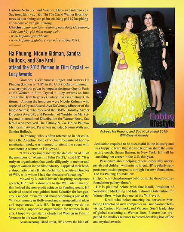 women in film awards article